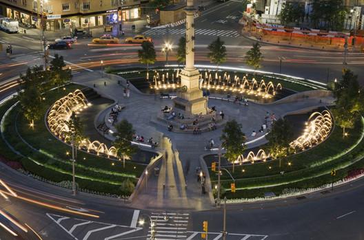 Columbus Circle Redesign / Olin Partnership. Image Courtesy of theolinstudio.com
