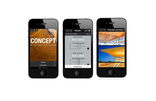 Interface on iOS. Image Courtesy of Fast + Epp