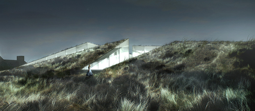 BIG Set to Build Blåvand Bunker Museum, Blåvand Bunker Museum. Image Courtesy of BIG