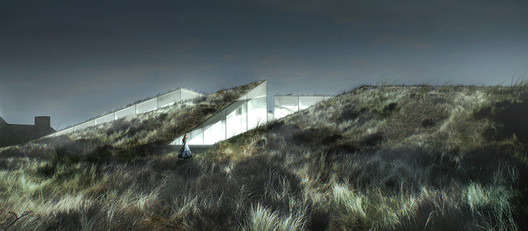 Blåvand Bunker Museum. Image Courtesy of BIG