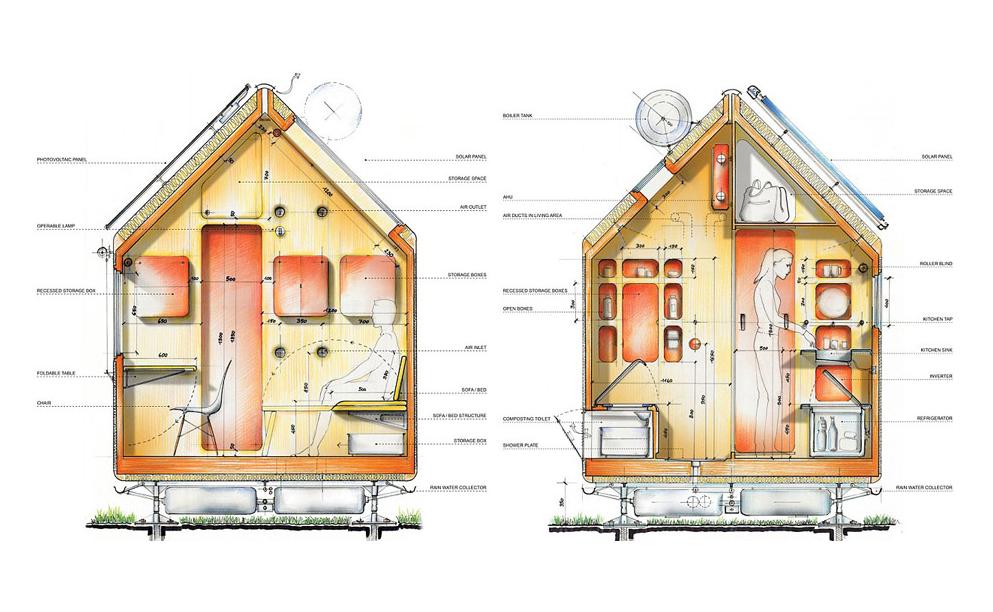 Diogene / Renzo Piano. Image © Vitra