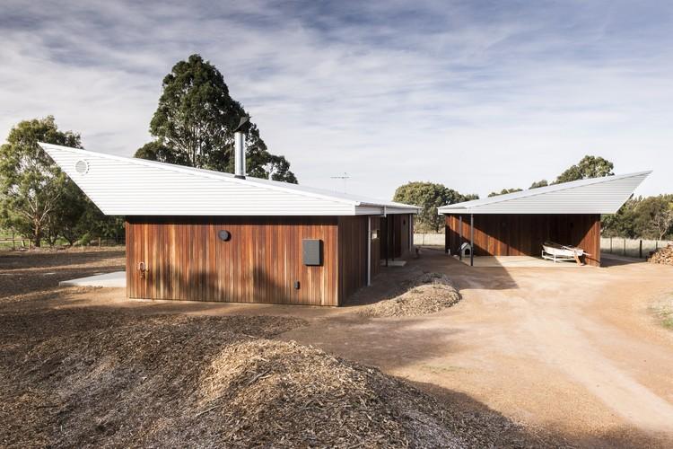 Vivienda Modular Leura Lane / Cooper Scaife Architects, © John Wilson