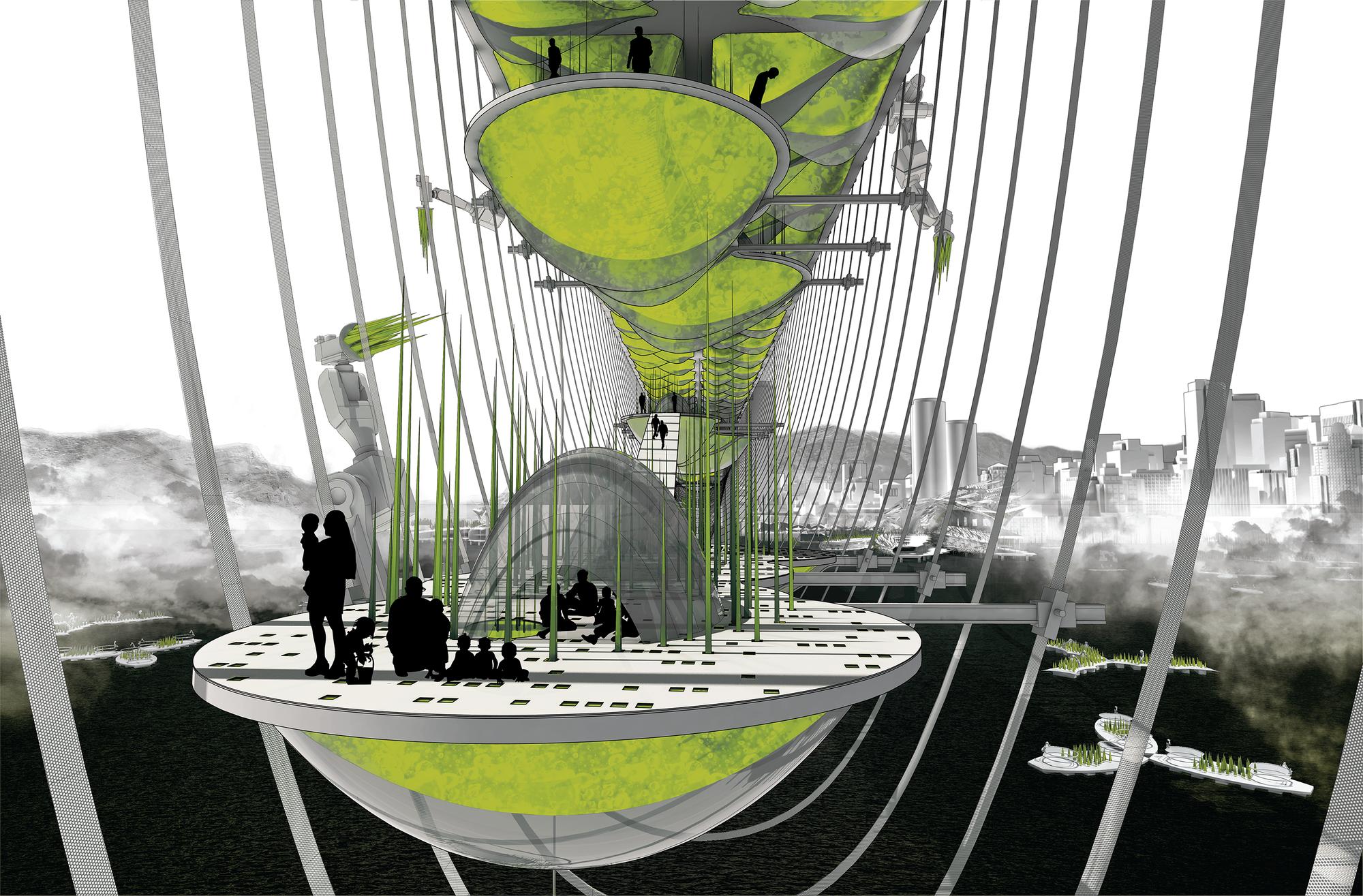 Gallery of Hydraspan Bridge Colony / Future Cities Lab