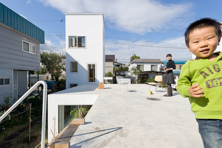 Kumagai House / Hiroshi Kuno + Associates. Image Courtesy of Hiroshi Kuno + Associates
