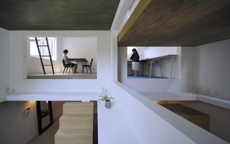 HouseT / Hiroyuki Shinozaki Architects. Image © Hiroyasu Sakaguchi
