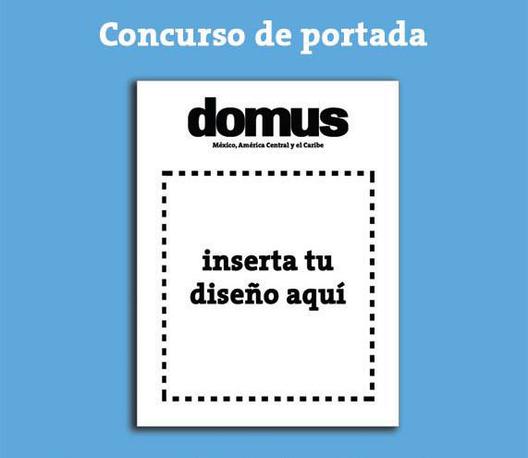 Concurso de portada de la revista Domus