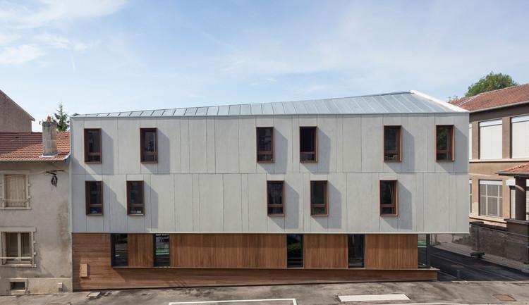 24 Unidades de Vivienda / Zanon + Bourbon Architects, © Olivier Dancy