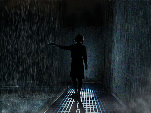 Initiation Room: Water. Image Courtesy of Arqbauraum