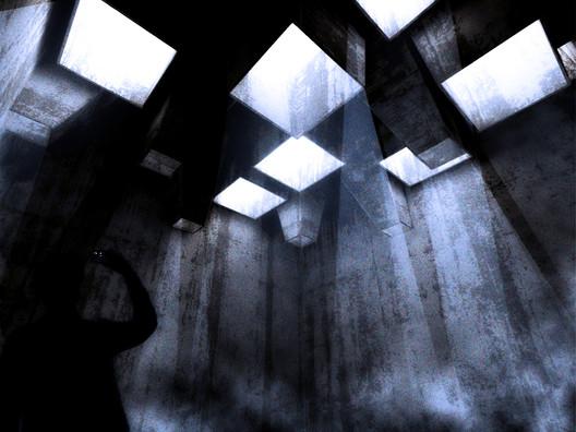 Purification Room: Light. Image Courtesy of Arqbauraum