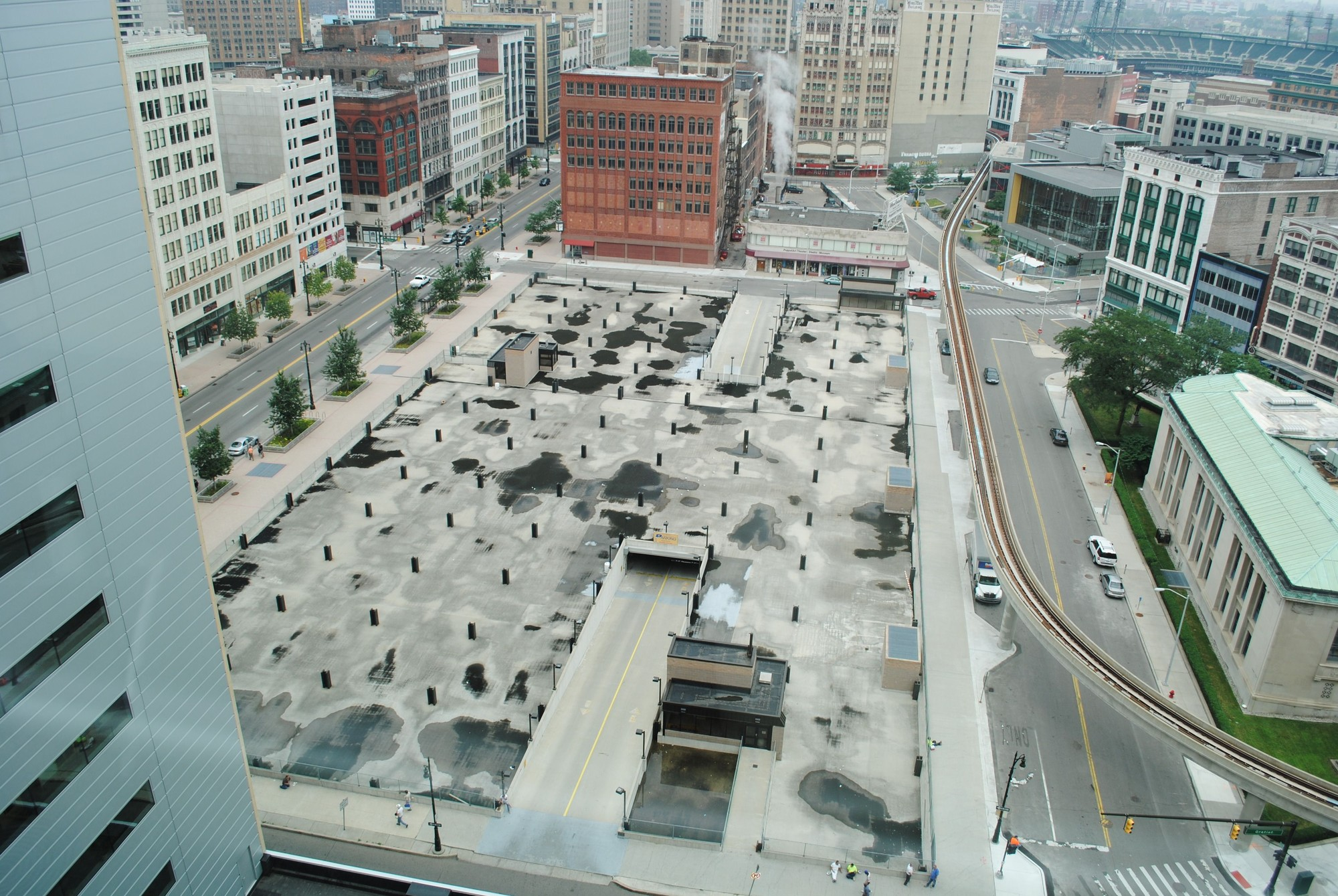 SHoP Architects Selected for Design of Iconic Site in Downtown Detroit, © Rock Ventures LLC