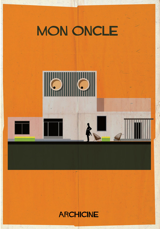 Mon Oncle. Directed Jacques Tati. Image Courtesy of Federico Babina
