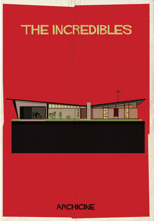 The Incredibles. Directed by Brad Bird.  Imagen cortesía de Federico Babina
