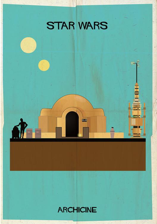 Star Wars. Directed by George Lucas.  Imagen cortesía de Federico Babina