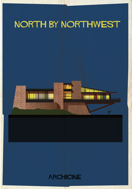North by Northwest. Directed by Alfred Hitchcock.  Imagen cortesía de Federico Babina