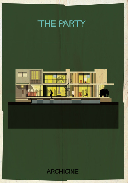 The Party. Directed by Blake Edwards. Image Courtesy of Federico Babina