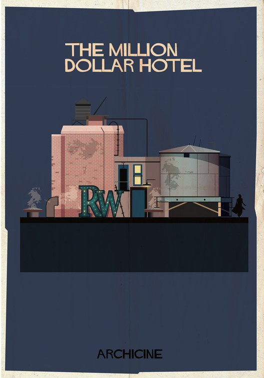 The Million Dollar Hotel. Directed by Wim Wenders. Image Courtesy of Federico Babina
