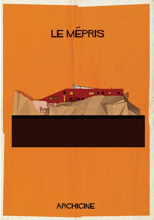 Le mépris. Directed by Jean-Luc Godard.  Imagen cortesía de Federico Babina