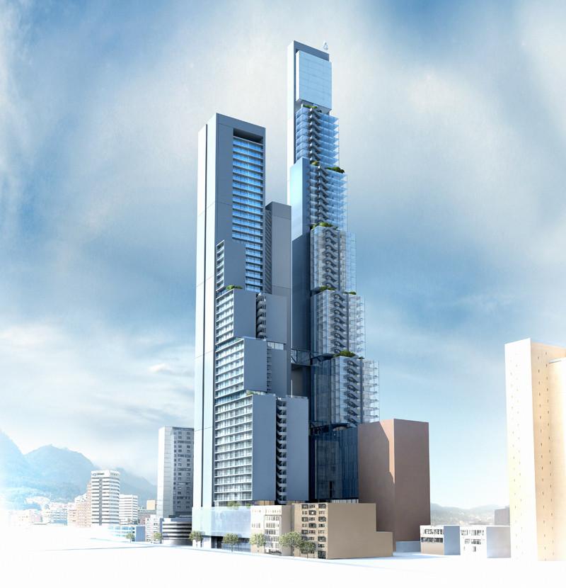 BD Bacatá: se construye en Bogotá el edificio más alto de Colombia , © BD Bacatá / Bogotá Downtown