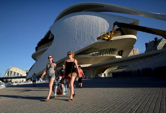 Ciudad de las Artes y la Ciencia / Valencia, España. Image © Samuel Aranda for The New York Times