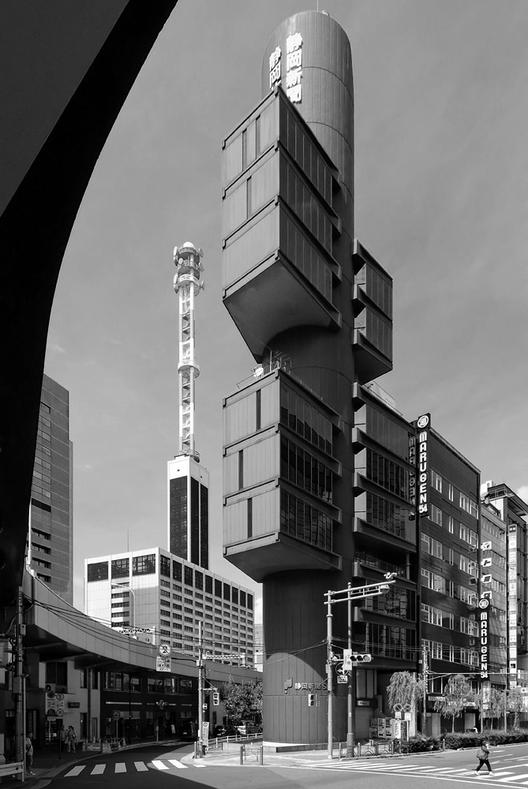Clásicos de Arquitectura: Centro de Prensa y Difusión Shizuoka / Kenzo Tange, Cortesía de Petr Šmídek - www.archiweb.cz