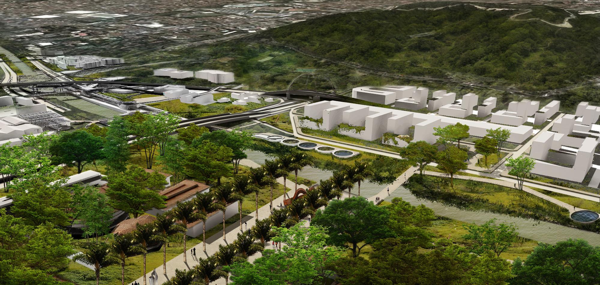 Universidad de Antioquía. Image Courtesy of Equipo Segundo Lugar