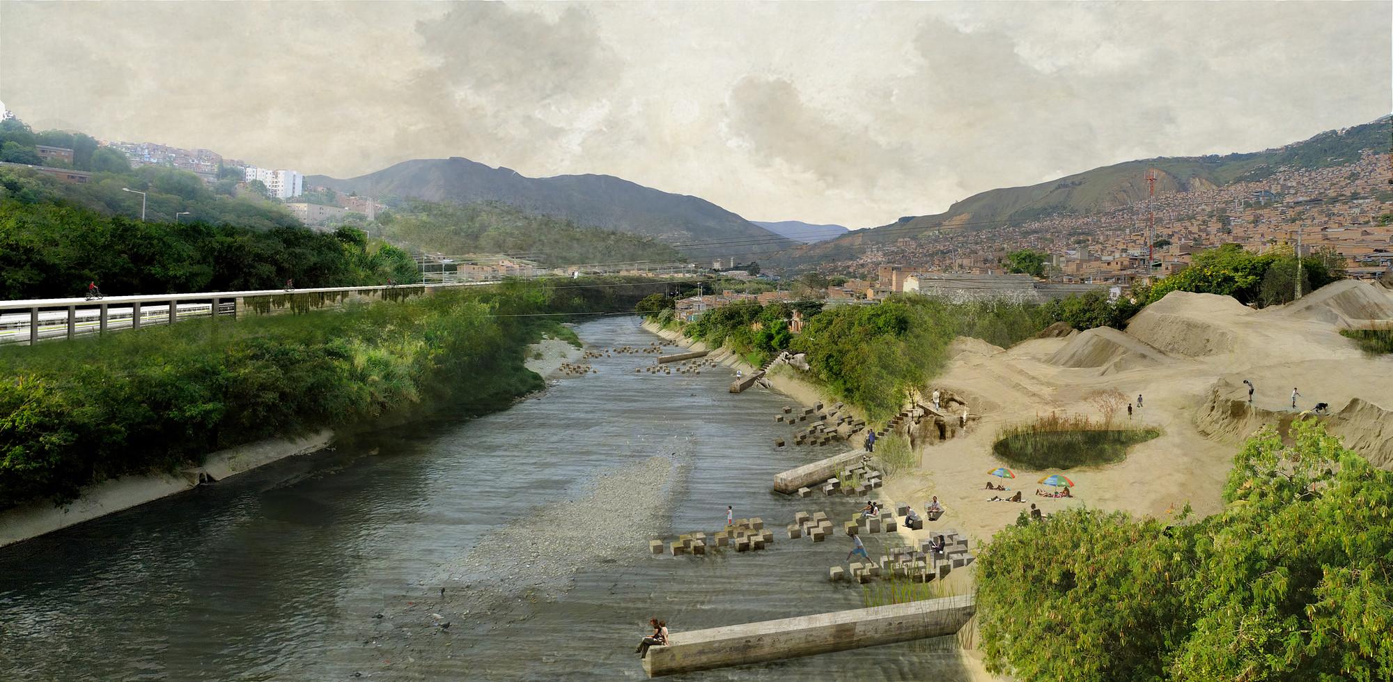 Parque de las arenas. Image Courtesy of Equipo Segundo Lugar