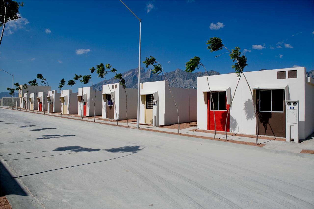 Proyecto ECOCASA en México, financiando la construcción de Viviendas Sostenibles. Image © ONU