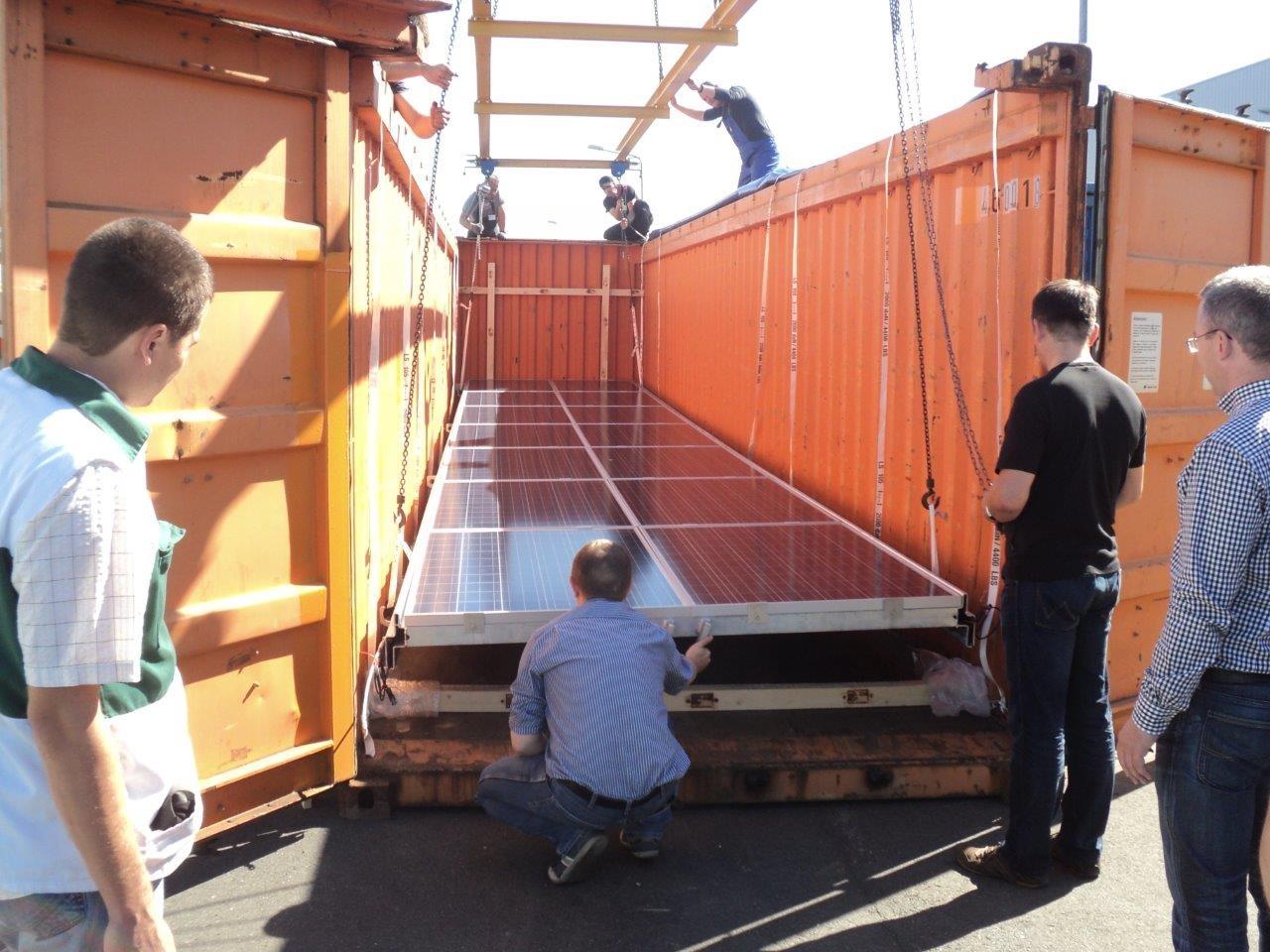 Arriendo de Paneles Solares asequibles. Image © ONU