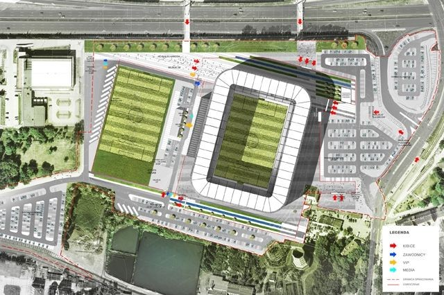 Site Plan. Image Courtesy of GMT