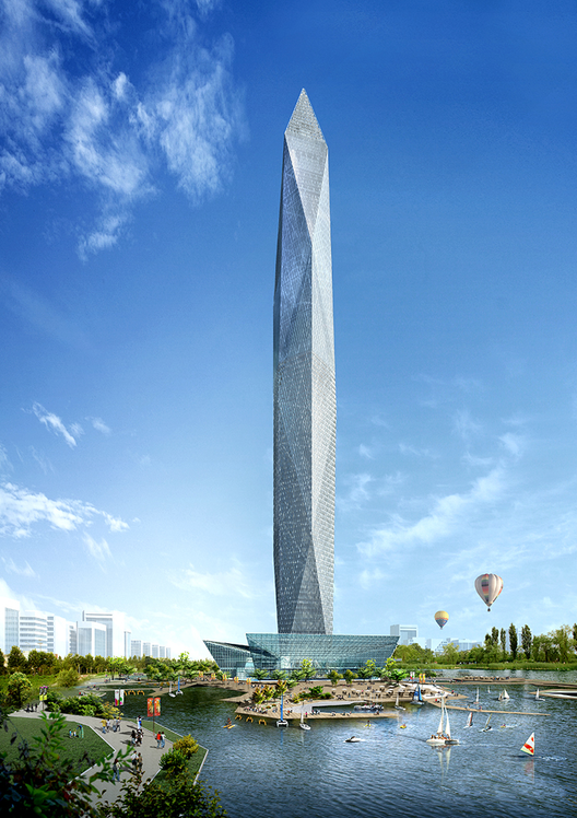 Tower Infinity, Seúl, Corea del Sur. Image Courtesy of fastcodesign.com