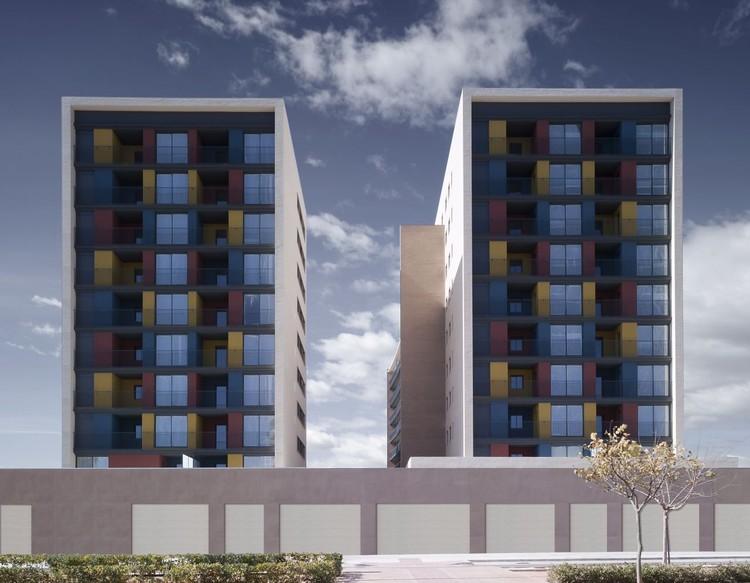 Edificio de 163 Viviendas / ADI Arquitectura, © Mayte Piera