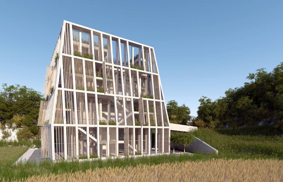 MOS Architects se toma el diseño humanitario en Nepal, Orfanato y Centro de Aprendizaje Lali Gurans. Imagen © MOS Architects