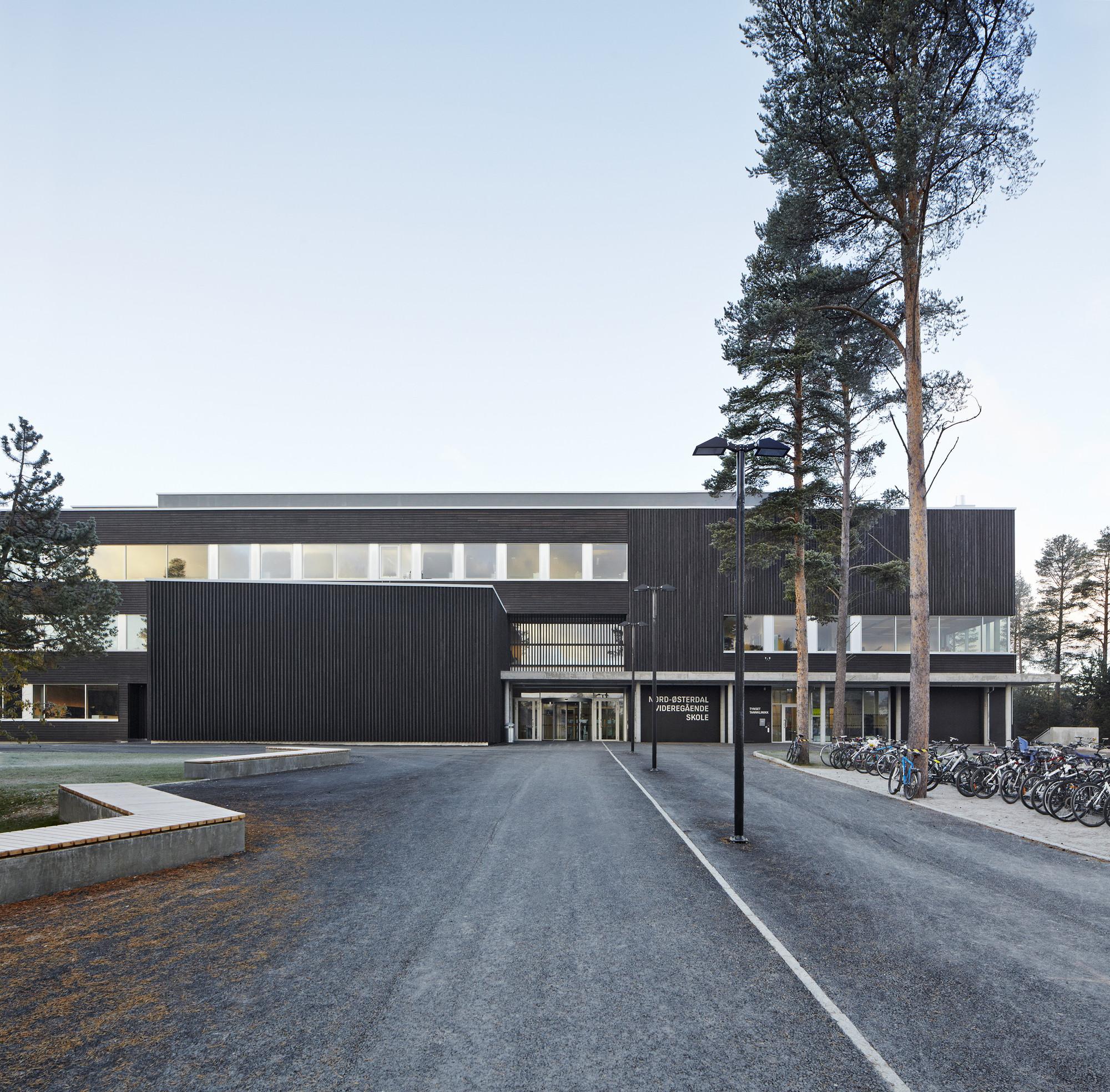 Nord-Østerdal High School / Longva arkitekter , © Ivan Brodey