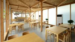 Cafetería en Ushimado / Niji Architects