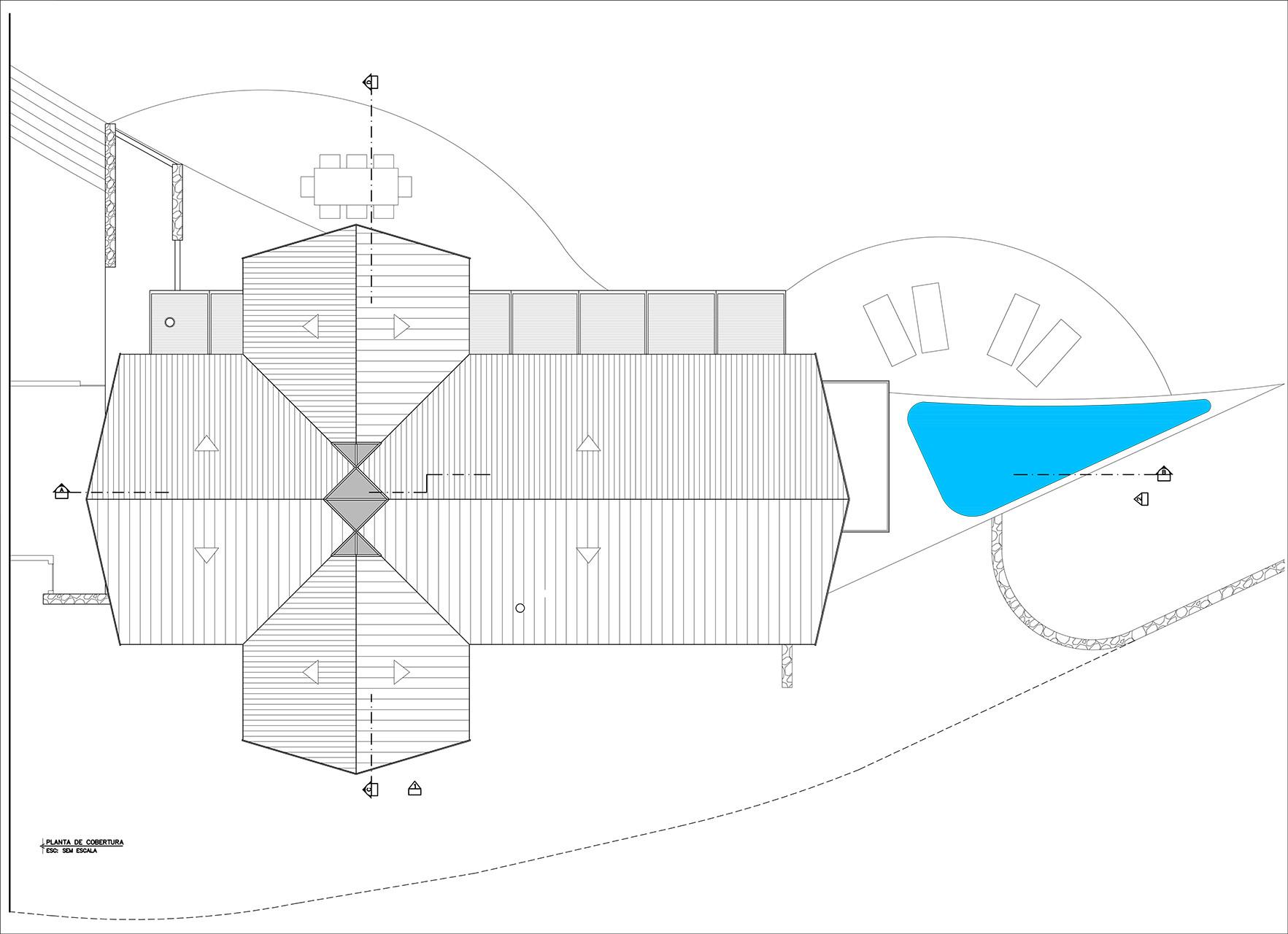 Galeria De Casa Na Colina Architectare 15