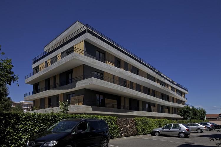 35 unidades de vivienda en Blagnac  / Nicolas Laisné + Christophe Rousselle, © Philippe Ruault