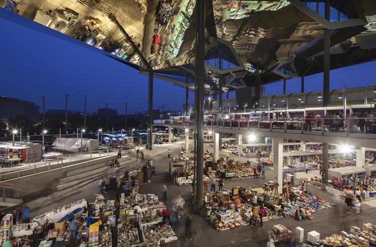 Mercat encants b720 ferm n v zquez arquitectos - Encantes barcelona ...