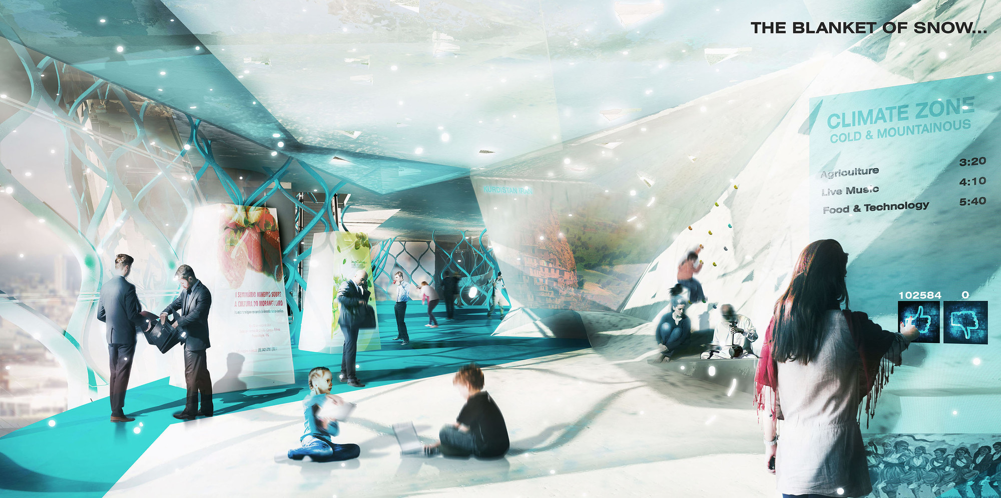 Gallery Of Competition Entry Iran Pavilion Expo Milan