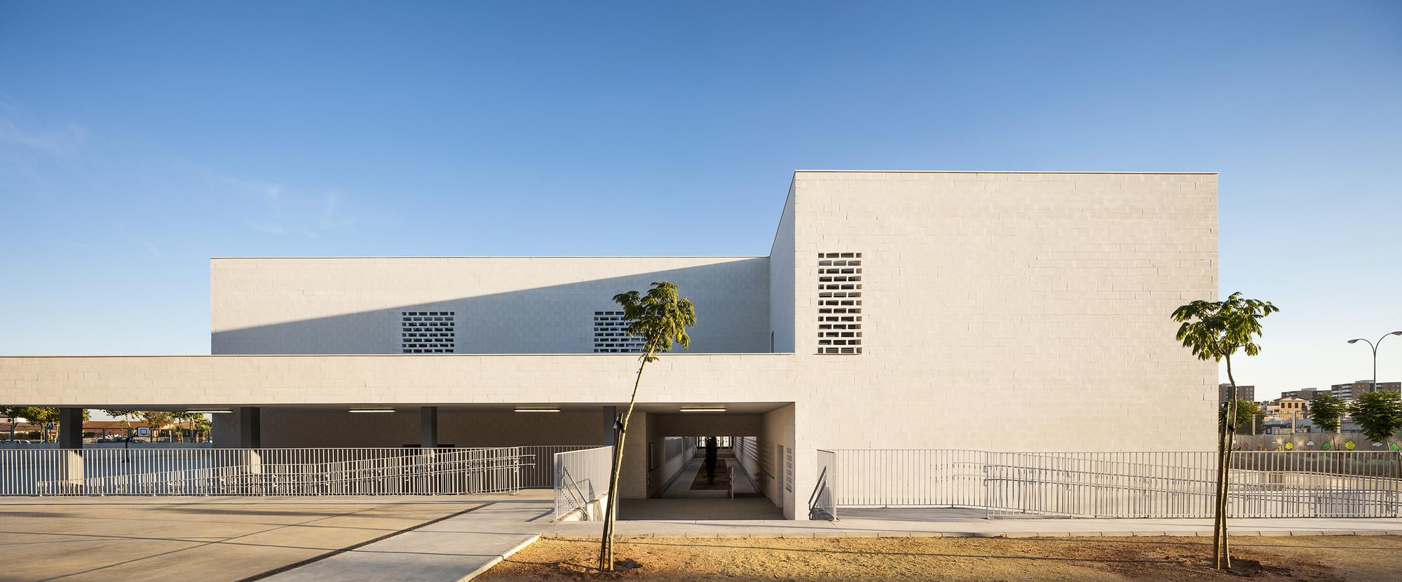 New Public Nursery and Primary School in Seville / UNIA Arquitectos, © Fernando Alda