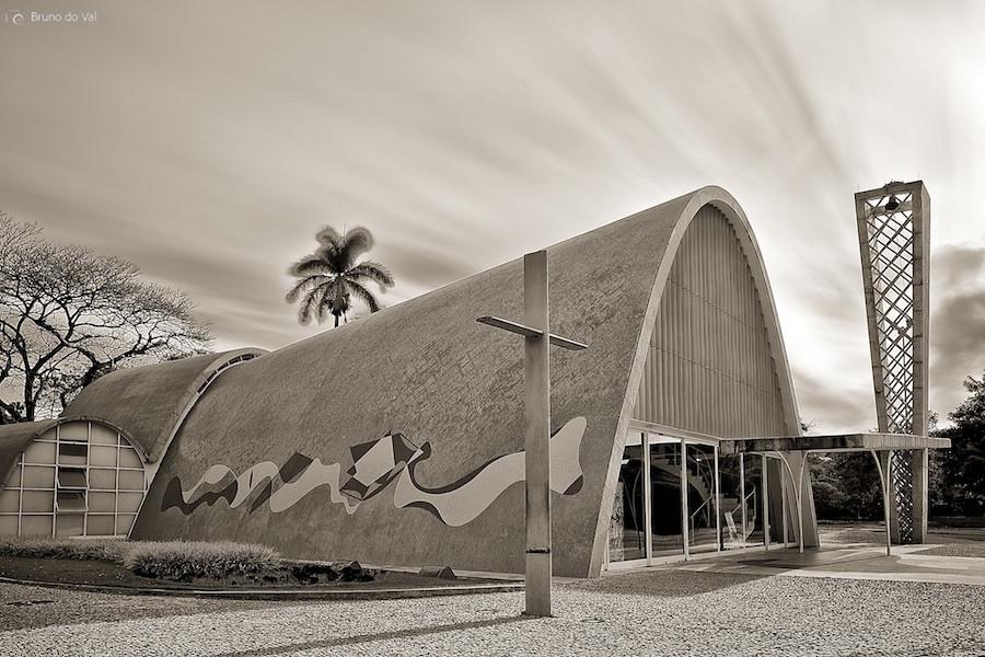 Iglesia de Pampulha. Image © Bruno do Vale