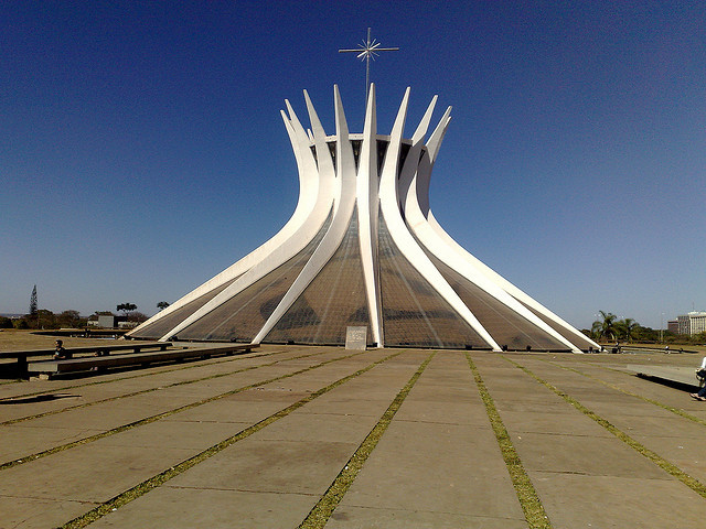 Catedral de Brasília. Image ©  Gabriel Tavares, via Flickr
