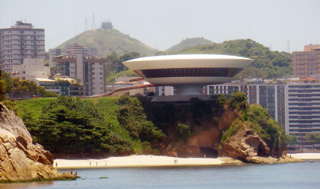 Museo de Arte Contemporáneo de Niterói – Niterói – RJ. Image © Rodrigo Soldon