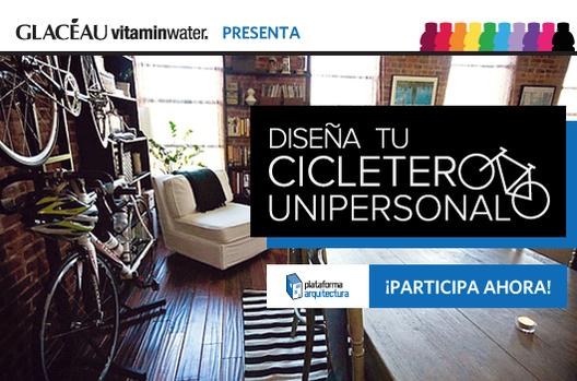 Concurso GLACÉAU vitaminwater: Cicletero unipersonal