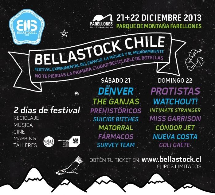 ¡Quedan pocos días para el 1º Festival Bellastock en Chile y en Plataforma Arquitectura regalamos 4 entradas!, Courtesy of Bellastock
