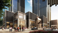 Foster and Heatherwick Collaborate to Design Shanghai Finance Center