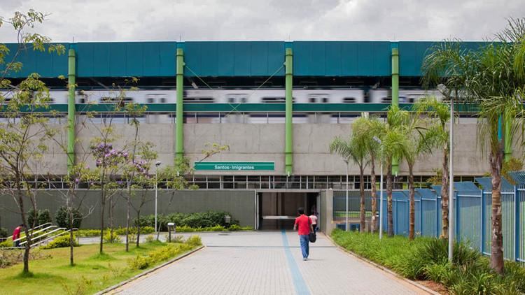 Estación Imigrantes – Línea 2 / Fernandes Arquitetos Associados, © Nelson Kon