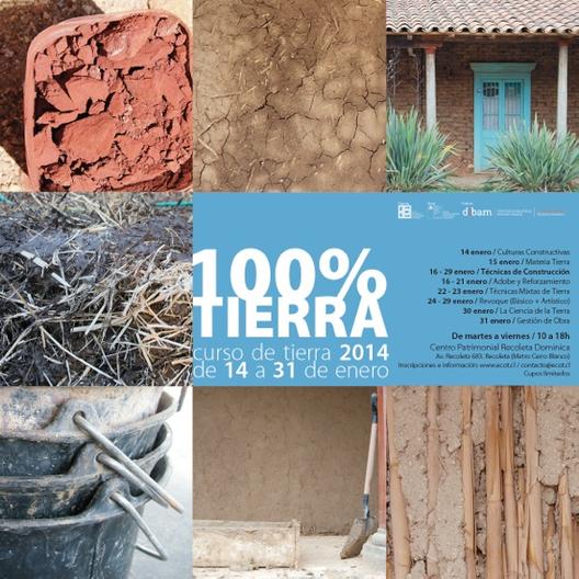 100% TIERRA - Curso de Construcción en Tierra