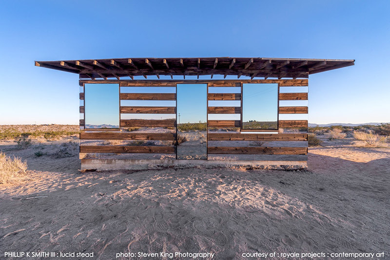 "Lucid Stead: A ""Disappearing"" Cabin of Mirrors, © Steven King"