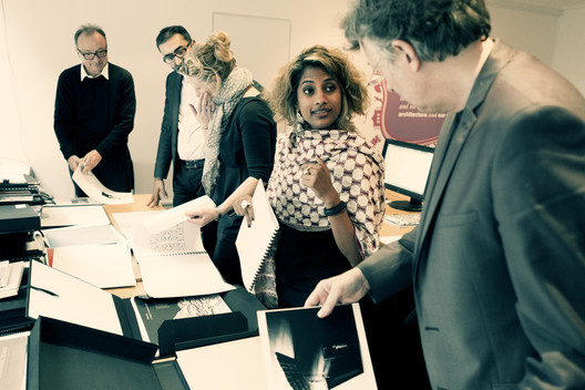 Silver Medal Judging Panel. Image Courtesy of RIBA