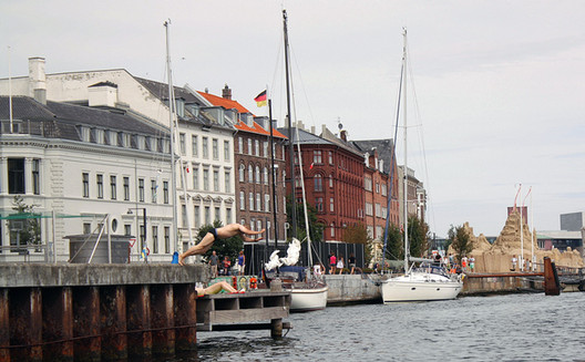 Swimming in Copenhagen. Image Courtesy of Arup Connect